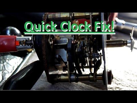How To: Fix An Automotive Analog Clock