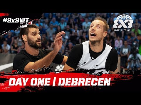 RE-LIVE - FIBA 3x3 World Tour 2018 - Debrecen Masters | Day One
