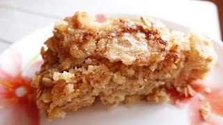 Рецепт! Овсяный пирог с грушами | #105