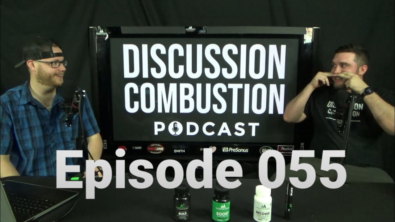Discussion Combustion Podcast   Episode 055 w/ Kevin Batstone & Arthur Rawe