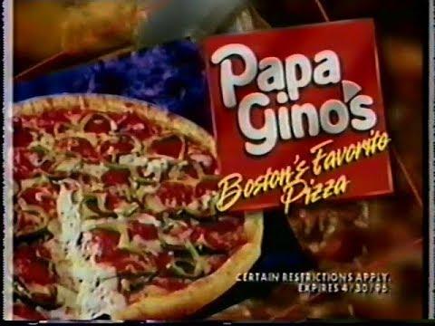 1996 Nesn Papa Ginos Pizza Mvp Mo Vaughn Phonecard