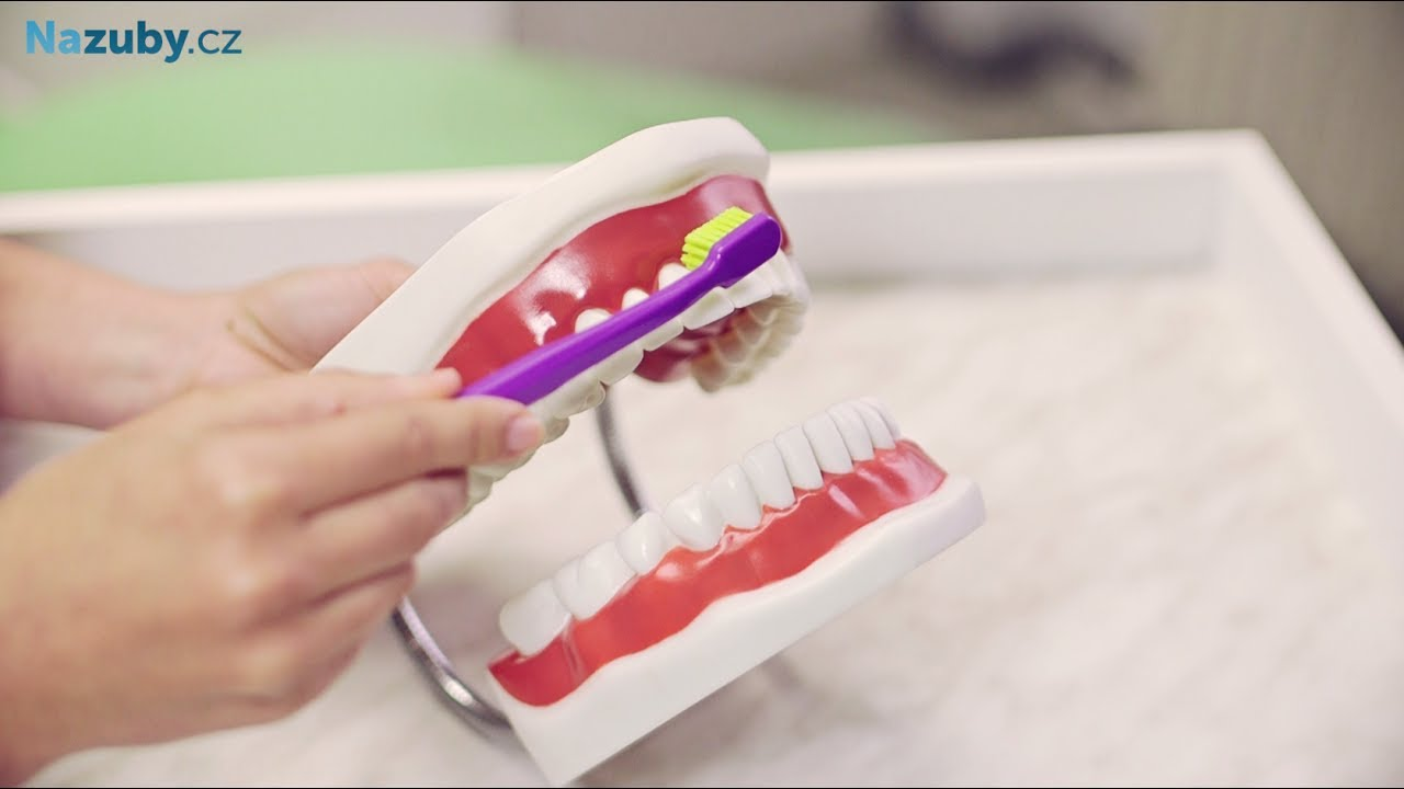 Správné čistenie zubov