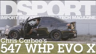 Real Street Performance 547 WHP EVO X  |  DSPORT Magazine Feature Car