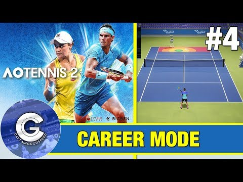 TRAINING! | AO Tennis 2 Career Mode #4