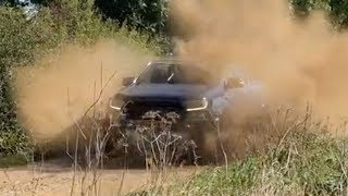 Off road in the Ford Ranger Raptor