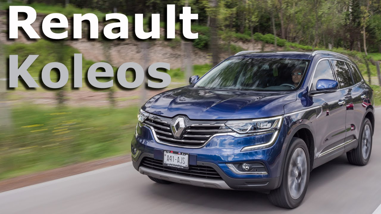 renault koleos 2017 completamente renovada y m s premium. Black Bedroom Furniture Sets. Home Design Ideas