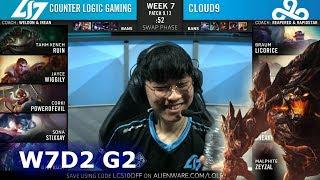 CLG vs C9   Week 7 Day 2 S9 LCS Summer 2019   CLG vs Cloud 9 W7D2