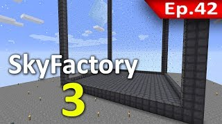 🏭 Minecraft: Sky Factory 3 - เริ่มสร้างเตาปฏิกรณ์ #42