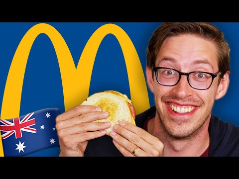 Keith Eats Everything At McDonald's Australia