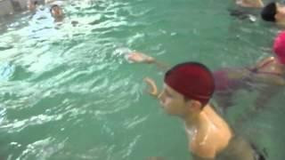 открытый урок в бассейне