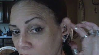 #1 ~ My piercings and their pain levels. Conch, Daith, Tragus and Helixes