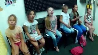 """Ghostbusters""-  урок вокала в школе музыки ""ЕдиноРок"""