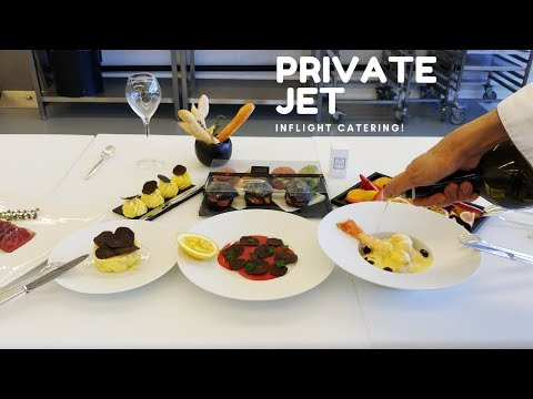 BEHIND THE SCENES: Plane Food for Private Jets in Zurich, Switzerland