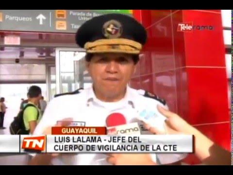 Operativos en exteriores de Terminal Terrestre Municipal Pascuales