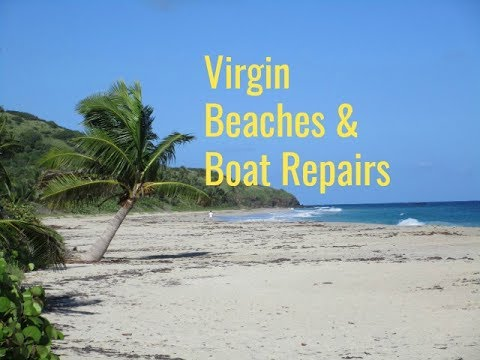 SE3 EP49 Spanish Virgin Islands and Main Sail repair