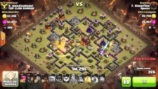 [Clash of Clans] Shattered GoHog | TH10 | 3stars #035