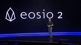 Dan Larimer, CTO of Block.one, announcing EOSIO 2