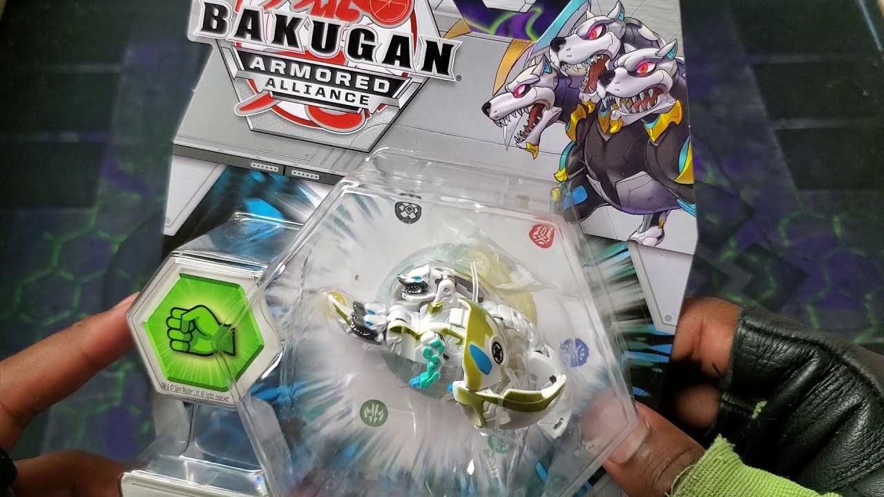 New 2020 BAKUGAN Armored Alliance Haos HOWLKOR