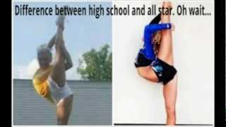 Which is Harder? High School Cheer? Or All-Star Cheer?