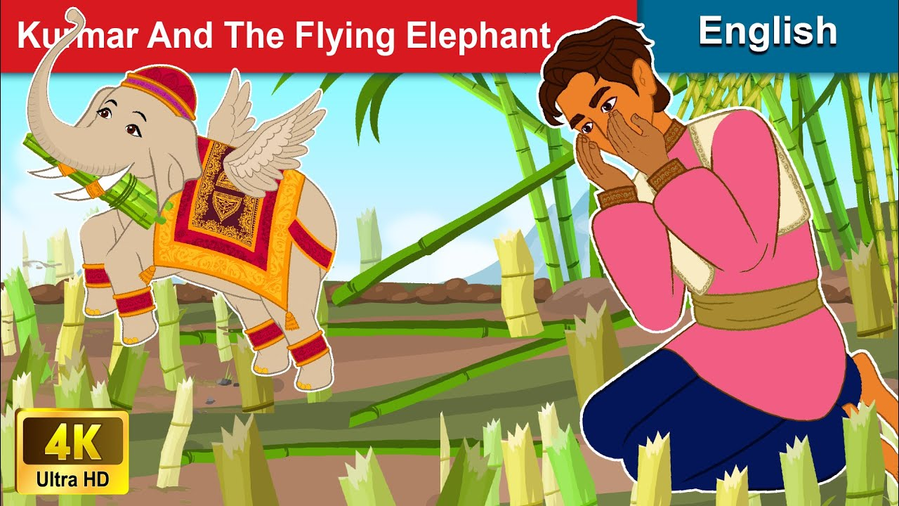 Kurmar And The Flying Elephant 🐘 Story in English | Stories For Teenagers | WOA Fairy Tales