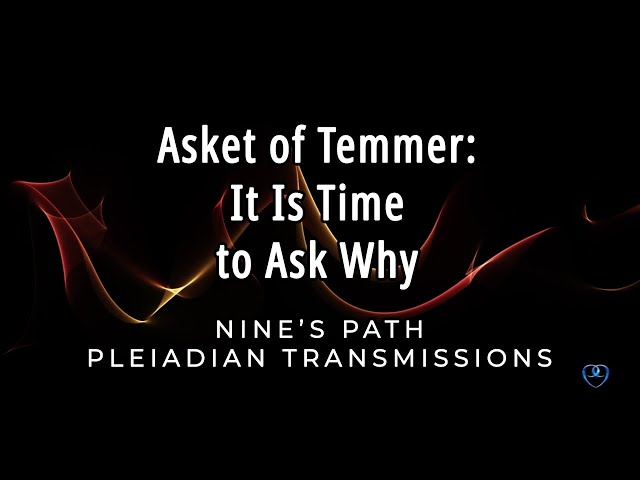 It Is Time to Ask Why | Asket of Temmer | Nine's Path Pleiadian Transmission