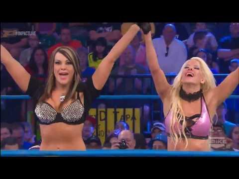 (720pHD): iMPACT Wrestling 03.27.14: Madison Rayne vs Angelina Love + Velvet Sky