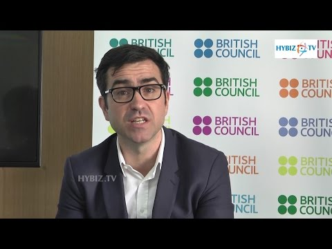 Alan Gemmell Obe Director British Council India - Hybiz