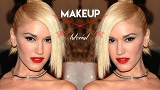Gwen Stefani Inspired Makeup Tutorial using the Urban Decay Gwen Stefani Palette| KristenLeanneStyle