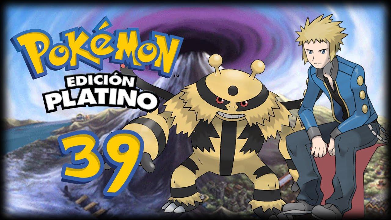 Pokémon Platino Cap39 Lectro El Más Fuerte De Los Líderes De