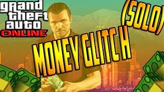 GTA V Online 1.28 - *SOLO* Unlimited Money Glitch!! (Robbing Stores Double Money)