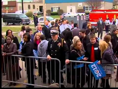 Vice President Joe Biden kicks off Ohio campaign with rally