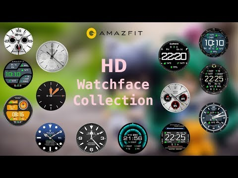 Amazfit - Top 15 HD watch faces for amazfit pace smartwatch | High