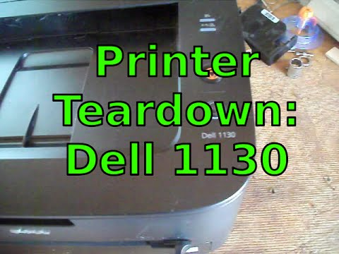 BONUS! Printer Teardown: Dell 1130