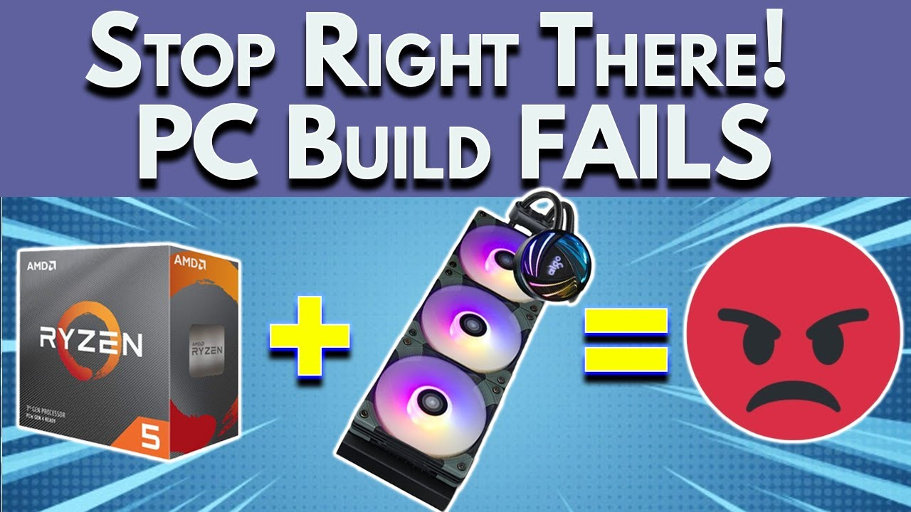 🛑STOP🛑 PC Build Fails To Avoid - October Boost My PC Build 2021