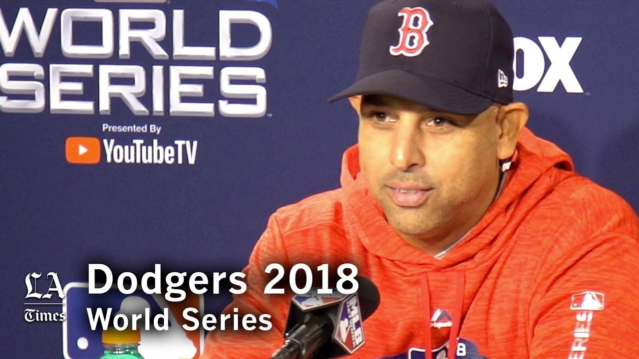Dodgers World Series 2018: Alex Cora on his friendship with Dave Roberts