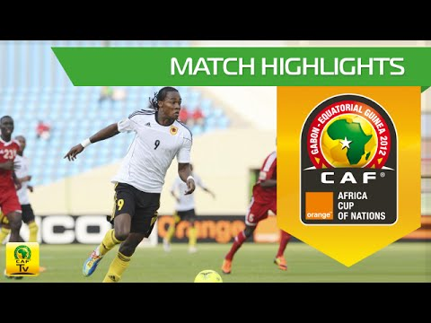 Soudan vs Angola  Orange Africa Cup of Nations, GABONEQUATORIAL GUINEA 2012