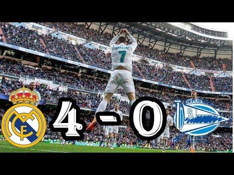 REAL MADRID VS ALAVES (RESUMEN 24/02/2018