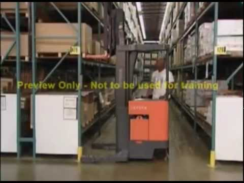 SAFE LIFT Reach Truck and Order Picker Training Kit  614-583