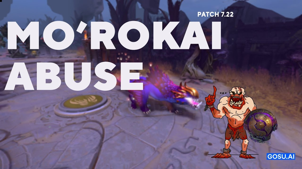 MO'ROKAI ABUSE (100% WINRATE) - The International Battle Pass 2019