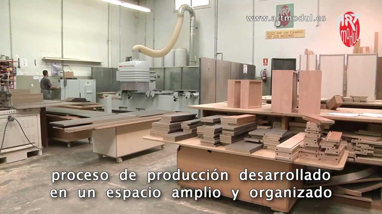 Art Modul  proceso de fabricacin de los muebles Full HD