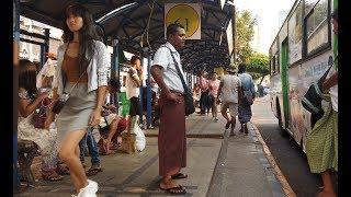 걸어서 미얀마속으로, 한류열풍으로 미니스커트를 입기시작한 미얀마 미녀들 [Minos Studio]
