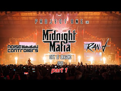 Midnight Mafia 2018 (Part 1) | Noisecontrollers, Ran-D, Project One