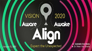 'Sunday Morning Live' 12 January 2020 Peter & Gaby van Breda   Aware, Align, Awake