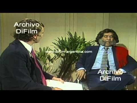 DiFilm - Sketch de Mario Sapag imitando a Carlos Menem 1989