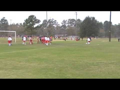 Solar Soccer Club (Dallas) - L17 Set Piece Goal vs Houstonians (Feb 2009)