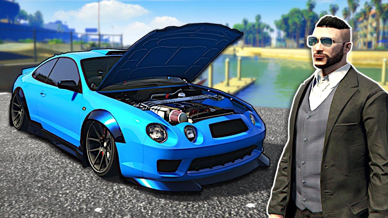 I Built a NEW Tuner Car! - GTA Online Los Santos Tuners update