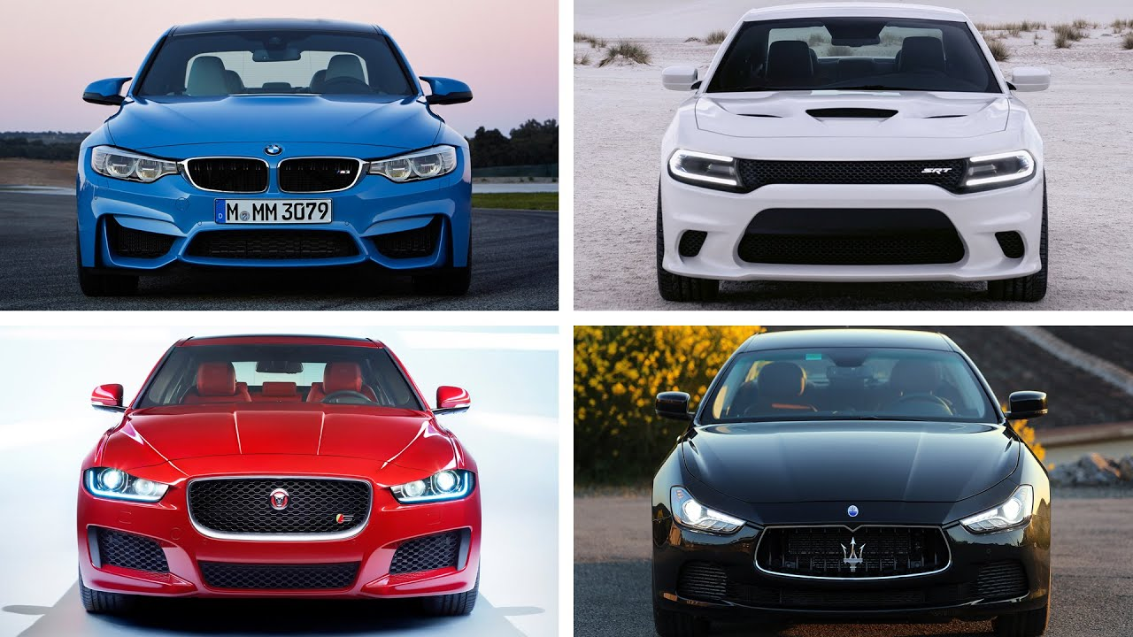 TOP 10 Sports Sedan Cars 2015   YouTube