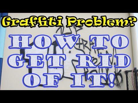Graffiti Removal - How to Remove Graffiti (My Graffiti Removal Techniques)