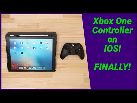 How To Use The Xbox One Controller On IOS (iPad, IPhone)
