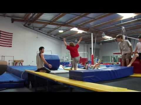 monarchs gymnastics meet videos